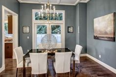 Beautiful Custom Home!: Beautiful Custom Quality Home In Kirkland!  Formal dining room with French doors to private backyard.