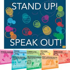 Stand Up, Speak Out Strategies 8-in-1 Poster Set  $18