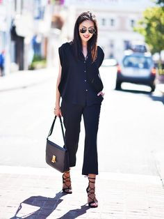 Dressing for work is hard enough without the added element of serious summer heat. Stylish expert behind 9 to 5 Chic blog, Anh Sundstrom is a San Francisco-based blogger known for her fashionable yet functional style at the office when it's all too hot out. If you're looking for ways to dress for work in the summer like a pro, keep on reading to infuse cool-girl vibe on your office-ready looks.
