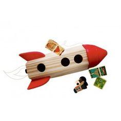 Foguete Espacial em Madeira - Kitopeq Valor: R$157,90