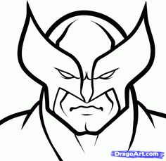 how to draw wolverine easy step 5