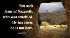 Short Easter Bible Verses For Cards To Teach Kids, Preschoolers, Youth To Celebrate Resurrection Day of Jesus - Share Easter Bible Verses KJV 2020 with everyone. Famous Bible Verses, Easter Bible Verses, Best Bible Quotes, Biblical Quotes, Bible Scriptures, He Is Risen Images, Jesus Tomb, Happy Easter Quotes, Good Friday Quotes