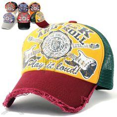 7f03f71acf2 Mens Vintage Distressed Baseball Cap Mesh Trucker Hat Distressed Baseball  Cap