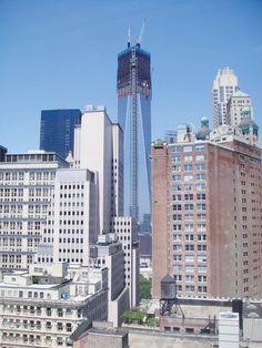 フリーダムタワー(旧ワールドトレードセンター)も近くにあります。大きいですね!ペース大学の詳しい情報はこちらから! http://www.ilisny.com/paceuniversity