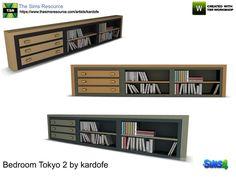 kardofe_Bedroom Tokyo_Library