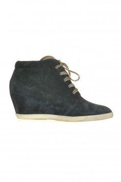 Paul Green Wedge-Sneakers mit Keilabsatz dunkelblau 1736-429 $129.90