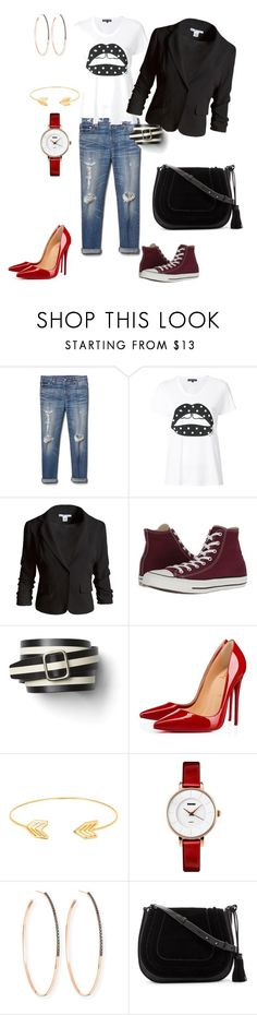 """Casual Pop Rocker"" by wendy-221 on Polyvore featuring Gap, Markus Lupfer, Sans Souci, Converse, Christian Louboutin, Lord & Taylor, Lana and Vince Camuto"