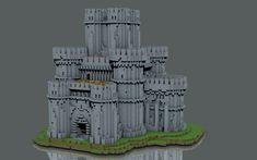 Сastle construction set Minecraft Project