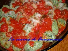 Gnocchi di ricotta e spinaci #giovedignocchi