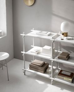 """A shelving solution designed to organize your life. #sticksystem #menuworld"""