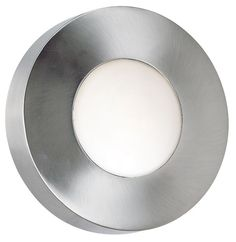 Burst White Glass Modern Round Outdoor Ceiling or Wall Light - #EU96768 - Euro Style Lighting