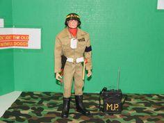 Vintage GI Joe Airborne Military Police Tan # One