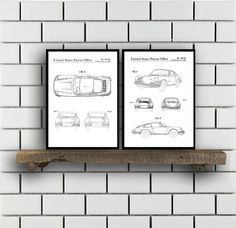 Porsche Patent Set of TWO, Porsche Patent Art - Porsche Art - Porsche Poster - Porsche Wall Art , Porsche, Porsche SP165 by STANLEYprintHOUSE  6.00 USD  These posters are printed using high quality archival inks, and will be of museum quality. Any of these posters will make a great affordable gift, or tie any room together.  Please choose between different sizes and colors.  These posters are shipped in mailing tubes via USPS First C ..  https://www.etsy.com/ca/listing/486996095/po..