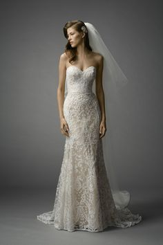 Watters Nyra gown #weddingdress #spring2015