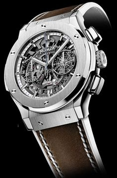 Discover a large selection of Hublot Classic Fusion Aerofusion watches on - the worldwide marketplace for luxury watches. Compare all Hublot Classic Fusion Aerofusion watches ✓ Buy safely & securely ✓ Dream Watches, Fine Watches, Sport Watches, Amazing Watches, Beautiful Watches, Cool Watches, Stylish Watches, Luxury Watches For Men, Elegant Watches