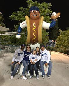 THINK BLUE: #flashbackfriday I need some Dodger baseball in my life! #dodgerdog #itfdb by vaaaaleriee