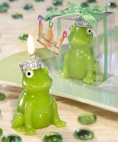 FashionCraft Frog Prince Candle Favors $0.73 #frog #wedding