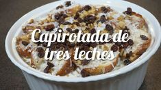 Mexican Cooking, Mexican Food Recipes, Snack Recipes, Dessert Recipes, Cooking Recipes, Mexican Dishes, Mexican Desserts, Snacks, Pudding Recipes