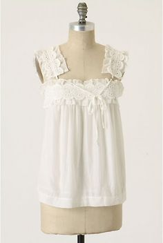 Welcome to the gOOd life: Anthropologie vintage lace chemise DIY