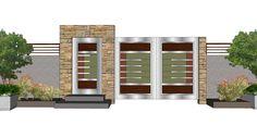 Gate and Fence Design - Niftery 3d Files, 3d Studio, Fence Design, Autocad, 2d, Gate, Garage Doors, Models, Outdoor Decor