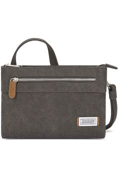 (This is an affiliate pin) Travelon Women's Anti-Theft Heritage Small Crossbody Cross Body Bag, Pewter, One Size - 33226 540