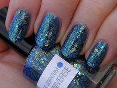 Vintage Musings Of A Modern Pinup: Nerd Lacquer The Quantum Bluniverse