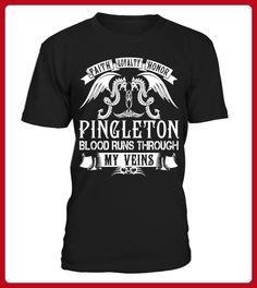 PINGLETON Blood Runs Through My Veins - Shirts für singles (*Partner-Link)