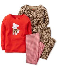 Pijama 4 peças menina Carter's