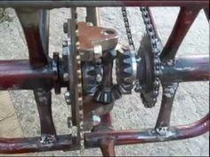 WILTON INVENTA- bicicleta com diferencial de fusca!!! - YouTube