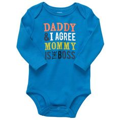 Hahaha whenever I have a baby, someone should buy this for me!