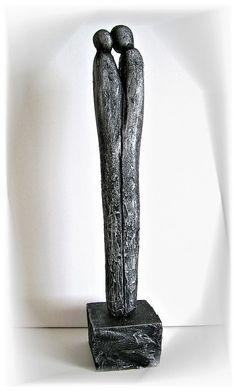 Kunstgalerie Winkler Moderne Skulptur Paar Deco Figur Abstrakt Menschen Unikat
