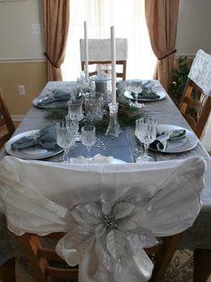 CHRISTMAS TABLE SETTINGS | تجهيزات للمائدة خاصة بالكرسمس 2013