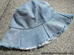 What to do with old denim jeans. Ideas and tutorials to repurpose, refashion, upcyle and reuse - Threading My Way. Denim Hat, Denim Shirt With Jeans, Old Jeans, Denim Purse, Patched Jeans, Raw Denim, Ropa Upcycling, Jeans Refashion, Denim Tote Bags