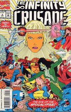 Infinity Crusade # 5 by Ron Lim & Al Milgrom
