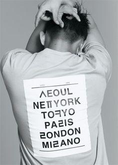Korean X English T shirts 한글 티셔츠 super cool!!!: