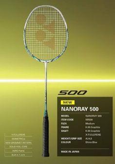 Yonex Nanoray 500 by Yonex. $160.00