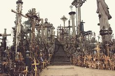 Breathtaking. That's the only word that came to my mind when standing on the hill of crosses in the middle of the Lithuanian nowhere. Wherever I looked, there were crosses tucked in the ground, on top of each other, with ...  #travel #Lithuania #crosses #sight #crazy #awesome #besttravels #shorttravelstory #experiences #viajar #reisen #erlebnisse #experiencias