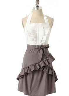 dress-inspired apron