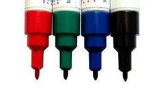 How to remove dry erase marker stains from fabric.