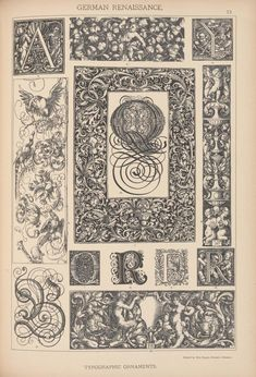 E. Hochdanz, translate from the German by H. Dolmetsch, Historic styles of ornament, London, Batsford and Holborn, 1898