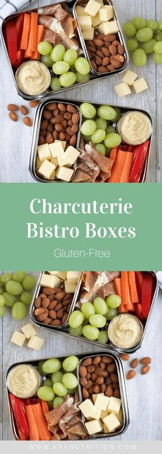 Charcuterie Bistro Boxes Quick and Easy Healthy Lunch I Healthy Sandwich Recipes, Healthy Sandwiches, Easy Healthy Recipes, Lunch Recipes, Keto Recipes, Dinner Recipes, Lunch Snacks, Easy Snacks, Healthy Snacks