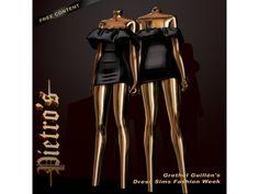 grethel guillén's dress sims fashion week - the sims 4 | Madame Sims 4 The Sims 4 Cabelos, The Sims 4 Download, Ideias Fashion, Dresses, Women's Clothes, Women's, Vestidos, Dress, Dressers