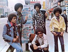 The Jackson 5 in Japan