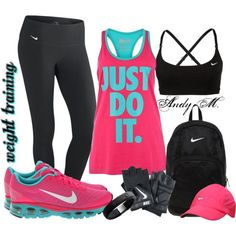Weight Training by andym8 on Polyvore