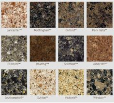 Different Kinds Of Granite Countertops : ... countertops on Pinterest Countertops, Types of granite and Carrara