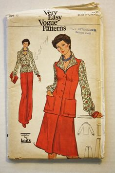 Vintage sewing pattern butterick 1960 4030
