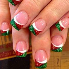 DIY Christmas Nail Art - 50 Christmas Nail Designs You Can Do Yourself! - Best Nail Art