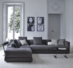 modern family room by usona- love this couch