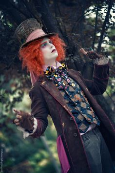 Mad Hatter Cosplay Costume