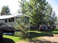 Yakima River RV Park at Ellensburg, Washington